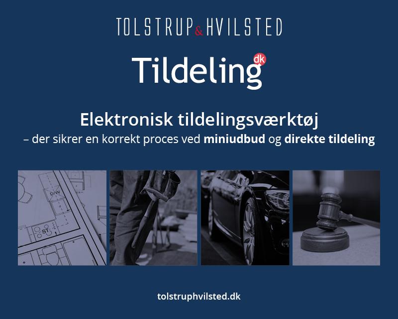 Tildeling.dk - elektronisk tildelingsværktøj